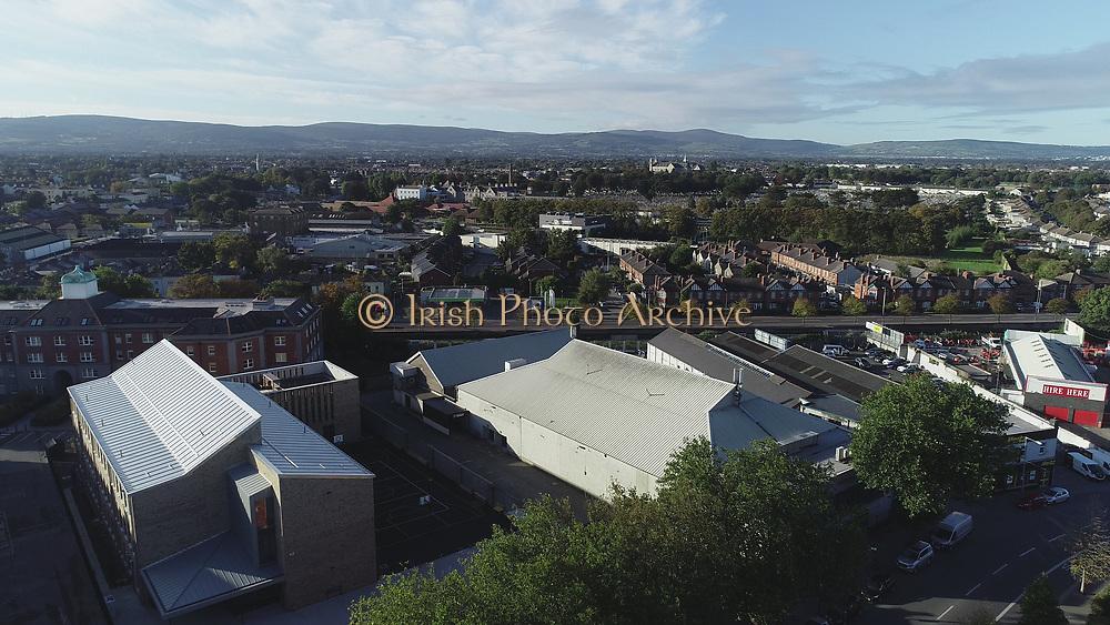 Aerial Views of Dublin 8 South Circular Road, Griffith College