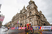 Time Trial Men 45,7 km, Jonathan Castroviejo (Spain) during the Road Cycling European Championships Glasgow 2018, in Glasgow City Centre and metropolitan areas Great Britain, Day 7, on August 8, 2018 - photo Luca Bettini / BettiniPhoto / ProSportsImages / DPPI<br /> - restriction - Netherlands out, Belgium out, Spain out, Italy out