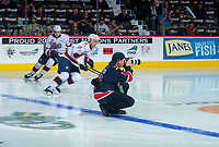 REGINA, SK - MAY 20: Photographer Keith Hershmiller at the Brandt Centre on May 20, 2018 in Regina, Canada. (Photo by Marissa Baecker/CHL Images)