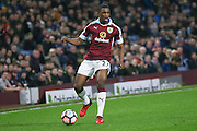 Burnley defender Tendayi Darikwa (27)  during the The FA Cup third round replay match between Burnley and Sunderland at Turf Moor, Burnley, England on 17 January 2017. Photo by Simon Davies.