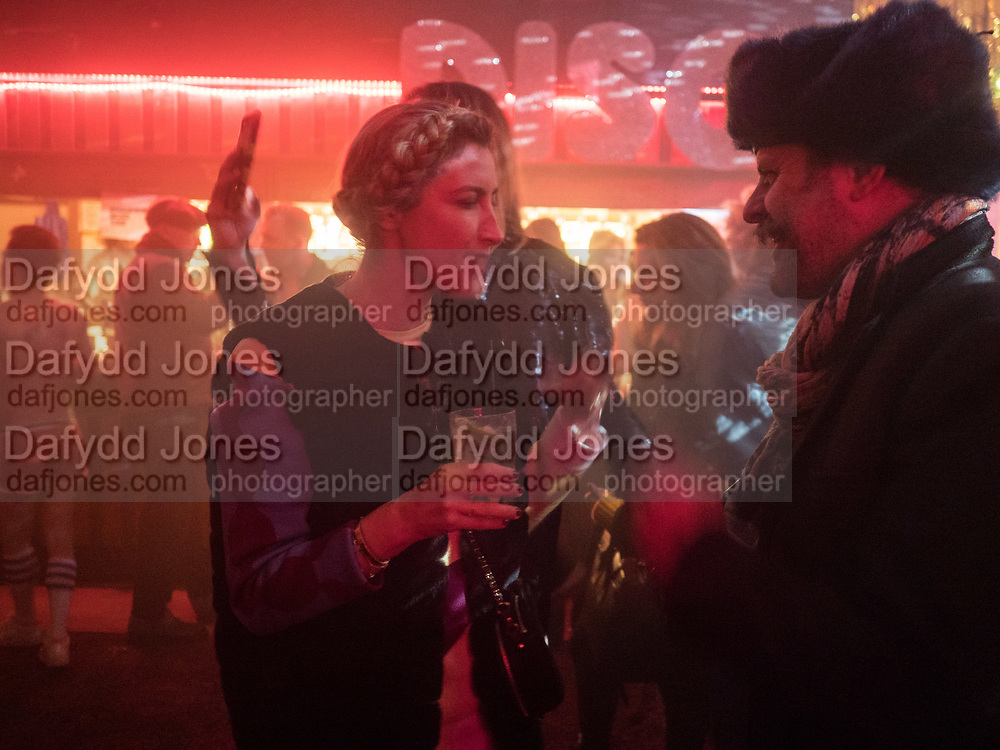 Maryam Eisler launch party for her book, Voices East London. Bethnal Green Working Mens club, London. 28 November 2017.