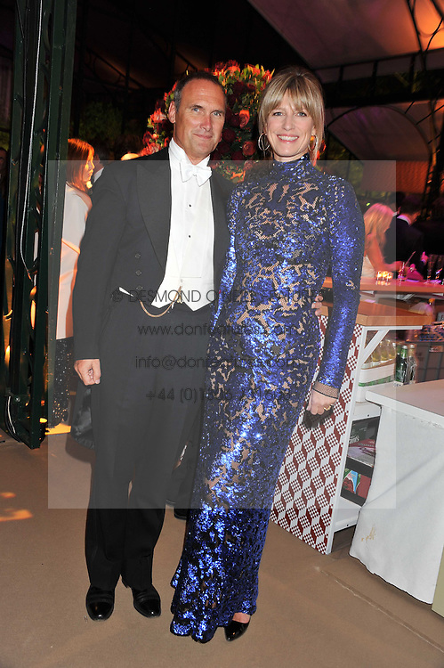 AA GILL and NICOLA FORMBY at the Raisa Gorbachev Foundation Gala held at the Stud House, Hampton Court, Surrey on 22nd September 22 2011