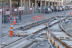Christchurch-Work begins on relaying tramlines