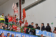 DESCRIZIONE : Beko Legabasket Serie A 2015- 2016 Playoff Quarti di Finale Gara3 Dinamo Banco di Sardegna Sassari - Grissin Bon Reggio Emilia<br /> GIOCATORE : Ultras Grissin Bon Reggio Emilia<br /> CATEGORIA : Ultras Tifosi Spettatori Pubblico<br /> SQUADRA : Grissin Bon Reggio Emilia<br /> EVENTO : Beko Legabasket Serie A 2015-2016 Playoff<br /> GARA : Quarti di Finale Gara3 Dinamo Banco di Sardegna Sassari - Grissin Bon Reggio Emilia<br /> DATA : 11/05/2016<br /> SPORT : Pallacanestro <br /> AUTORE : Agenzia Ciamillo-Castoria/C.Atzori