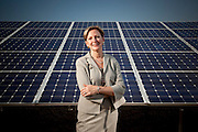 Ellen Kullman, CEO of DuPont, photographed at DuPont facilities in Wilmington Delaware, for Fortune Magazine.