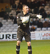 Dundee keeper Robert Douglas - Motherwell v Dundee at Fir Park in the Clydesdale Bank Scottish Premier League.. - © David Young - www.davidyoungphoto.co.uk - email: davidyoungphoto@gmail.com