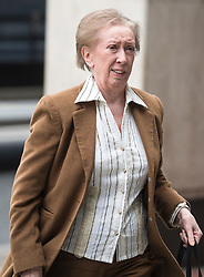 DATE CORRECTION TO 20/03/2018 © Licensed to London News Pictures. 20/03/2018. London, UK. Margaret Beckett arrives at Labour Party headquarters in London to attend a National Executive Committee meeting, where a new general secretary of the Labour Party is expected to be appointed. Photo credit: Ben Cawthra/LNP