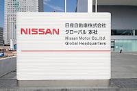 Nissan new Yokohama headquarters, Japan. October 2009.