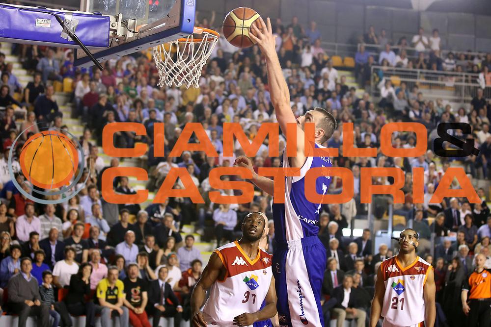 DESCRIZIONE : Roma Lega A 2012-2013 Acea Roma Lenovo Cant&ugrave; playoff semifinale gara 1<br /> GIOCATORE : Marco Scekic<br /> CATEGORIA : tiro<br /> SQUADRA : Lenovo Cant&ugrave;<br /> EVENTO : Campionato Lega A 2012-2013 playoff semifinale gara 1<br /> GARA : Acea Roma Lenovo Cant&ugrave;<br /> DATA : 24/05/2013<br /> SPORT : Pallacanestro <br /> AUTORE : Agenzia Ciamillo-Castoria/ElioCastoria<br /> Galleria : Lega Basket A 2012-2013  <br /> Fotonotizia : Roma Lega A 2012-2013 Acea Roma Lenovo Cant&ugrave; playoff semifinale gara 1<br /> Predefinita :