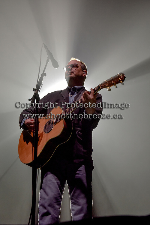 KELOWNA, CANADA - MARCH 30:  Matt Good performs on March 30, 2018 at Prospera Place in Kelowna, British Columbia, Canada.  (Photo by Marissa Baecker/Shoot the Breeze)  *** Local Caption ***