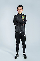 Portrait of Chinese soccer player Liang Xueming of Guizhou Hengfeng Zhicheng F.C. for the 2017 Chinese Football Association Super League, in Guiyang city, southwest China's Guizhou province, 23 February 2017.