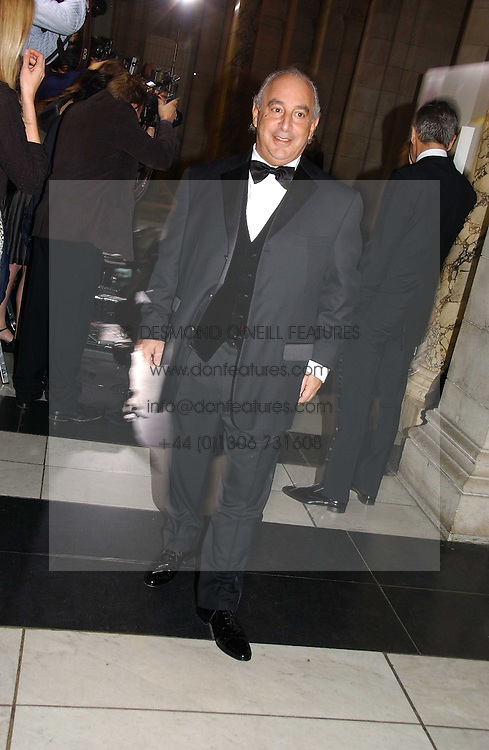 PHILIP GREEN at the British Fashion Awards 2006 sponsored by Swarovski held at the V&A Museum, Cromwell Road, London SW7 on 2nd November 2006.<br />