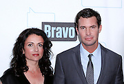 Jenny Pulos and Jeff Lewis attend the 2010 Bravo Media Upfront Party at Skylight Studios in New York City on March 10, 2010.