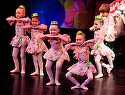 The Bon-Bons at the North Country Ballet Ensemble's 2008 production of the Nutcracker at the Hartman Theatre, Plattsburgh State University, Plattsburgh, N.Y.  (Photo/Todd Bissonette - www.rtbphoto.com)