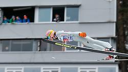 04.01.2014, Bergisel Schanze, Innsbruck, AUT, FIS Ski Sprung Weltcup, 62. Vierschanzentournee, Probesprung, im Bild Dawid Kubacki (POL) // Dawid Kubacki of Poland during Trial Jump of 62nd Four Hills Tournament of FIS Ski Jumping World Cup at the Bergisel Schanze, Innsbruck, Austria on 2014/01/04. EXPA Pictures © 2014, PhotoCredit: EXPA/ Peter Rinderer