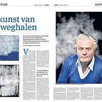Tekst en beeld zijn auteursrechtelijk beschermd en het is dan ook verboden zonder toestemming van auteur, fotograaf en/of uitgever iets hiervan te publiceren <br /> <br /> Parool 10 januari 2014: kunstenaar René Jolink maakt comeback