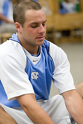 19 April 2008: North Carolina men's lacrosse midfielder Rob Driscoll (40) before a 13-9 win over the Hofstra Pride at Kenan Stadium in Chapel Hill, NC.