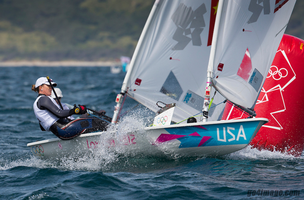 Laser RadialUSARailey Paige<br /> <br /> 2012 Olympic Games <br /> London / Weymouth