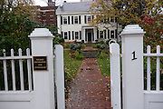 Nieman Foundation house at Harvard University, Cambridge, MA