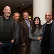 10.10. 2017.          <br /> Pictured at the Limerick Going for Gold 2017 finals in the Strand Hotel were, Damian Coughlan, Dr. Michael Johnson, Anthony O'Dea, Kate McMahon and Dr. Colin Fitzpatrick from the UL Environmental Committee.<br /> <br /> <br /> Limerick Going for Gold, which is sponsored by the JP McManus Charitable Foundation, has a total prize pool of over €75,000.  It is organised by Limerick City and County Council and supported by Limerick's Live 95FM, The Limerick Leader and The Limerick Chronicle, The Limerick Post, Parkway Shopping Centre, I Love Limerick and Southern Marketing Media & Design. Picture: Alan Place
