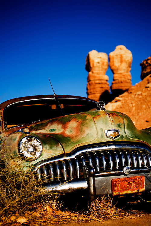 Buick Eighty-Eight. Bluff, Utah.
