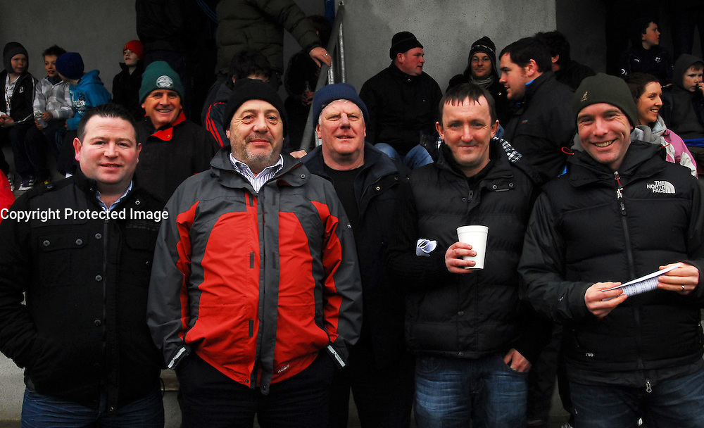 Up for the Cup, supporting the Westport Bulls in Tullamore were Mark Walsh, Sid Davis, Bob Napier, Brendan McNally and Peter Gibbons.