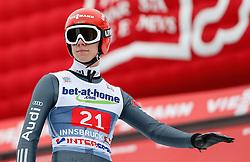 04.01.2014, Bergisel Schanze, Innsbruck, AUT, FIS Ski Sprung Weltcup, 62. Vierschanzentournee, Bewerb, im Bild Andreas Wellinger (GER) // Andreas Wellinger of Germany during Competition of 62nd Four Hills Tournament of FIS Ski Jumping World Cup at the Bergisel Schanze, Innsbruck, Austria on 2014/01/04. EXPA Pictures © 2014, PhotoCredit: EXPA/ Peter Rinderer