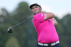 September 20, 2018 - Atlanta, Georgia, United States - Jon Rahm tees off the 16th hole during the first round of the 2018 TOUR Championship. (Credit Image: © Debby Wong/ZUMA Wire)