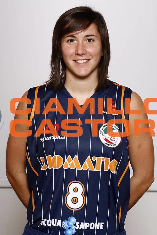 DESCRIZIONE : Napoli Palavesuvio LBF Opening Day Liomatic Umbertide<br /> GIOCATORE : Chiara Rossi<br /> SQUADRA : Liomatic Umbertide<br /> EVENTO : Campionato Lega Basket Femminile A1 2009-2010<br /> GARA : Liomatic Umbertide<br /> DATA : 10/10/2009 <br /> CATEGORIA : ritratto<br /> SPORT : Pallacanestro <br /> AUTORE : Agenzia Ciamillo-Castoria/E.Castoria<br /> Galleria : Lega Basket Femminile 2009-2010<br /> Fotonotizia : Napoli Palavesuvio LBF Opening Day Liomatic Umbertide<br /> Predefinita :