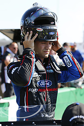 July 13, 2018 - Sparta, Kentucky, United States of America - Ty Majeski (60) waits to qualify for the Alsco 300 at Kentucky Speedway in Sparta, Kentucky. (Credit Image: © Chris Owens Asp Inc/ASP via ZUMA Wire)