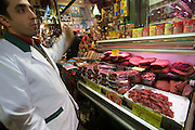 "Istanbul. At the Egyptian Bazar (""Spice Bazar""). Pastrami"