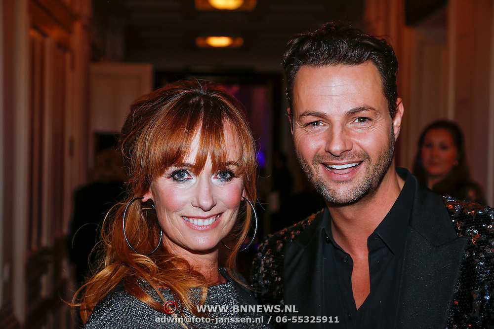 NLD/Amsterdam/20121112 - Beau Monde Awards 2012, Patty Zomer en Fred van Leer