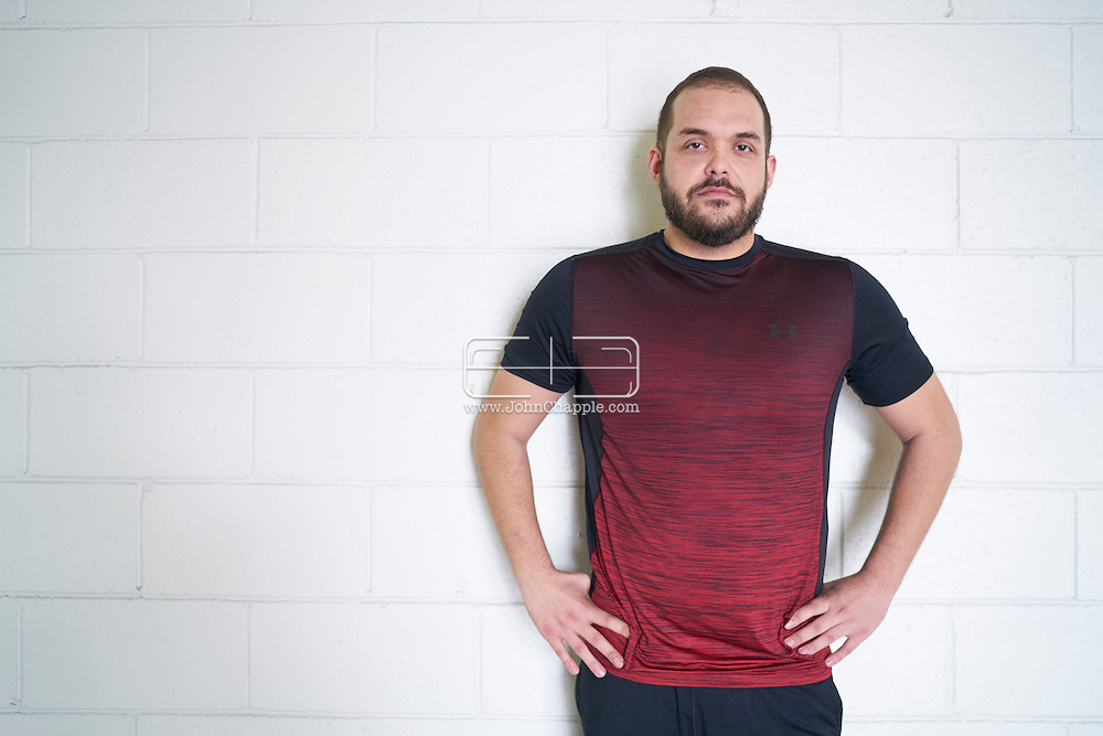 January 4, 2017 Beverly Hills, California. Will Ontiveros (27) a participant in E!'s Revenge Body. Will's weight gain turned into heartbreak when the love of his life abruptly ended their relationship. To get back his confidence, he wants to show off his new attitude and body to his ex.<br /> Photo Copyright John Chapple / www.JohnChapple.com /