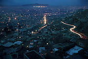A section of Kabul, Afghanistan, is photographed from the heights of Television Mountain, one of the renowned viewing points of the city.