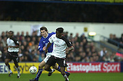 10/01/2004 - Photo  Peter Spurrier.2003/04 Barclaycard Premiership Fulham v Everton, Fulhams', Louis SAHA .