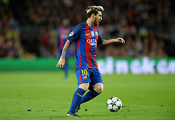 Lionel Messi of Barcelona - Mandatory by-line: Dougie Allward/JMP - 19/10/2016 - FOOTBALL - Camp Nou - Barcelona, Catalonia - FC Barcelona v Manchester City - UEFA Champions League