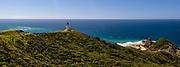 Cape Reinga panorama northland new zealand