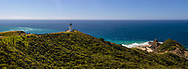 Cape Reinga panorama northland new zealand