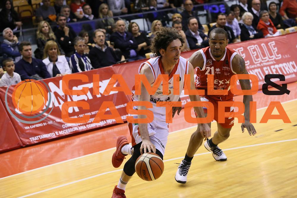 Della Valle Amedeo<br /> Grissin Bon Reggio Emilia - The Flexx Pistoia<br /> Lega Basket Serie A 2016/2017<br /> Reggio Emilia 30/04/2017<br /> Foto Ciamillo-Castoria