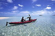 Kayaking, Cook Islands, Aitutaki<br />