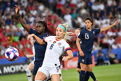 June 28, 2019 - Paris, ile de france, France - Julie ERTZ (USA) in action during the second period of the quarter-final between FRANCE vs USA in the 2019 women's football World cup at Parc des Princes in Paris, on the 28 June 2019. (Credit Image: © Julien Mattia/NurPhoto via ZUMA Press)