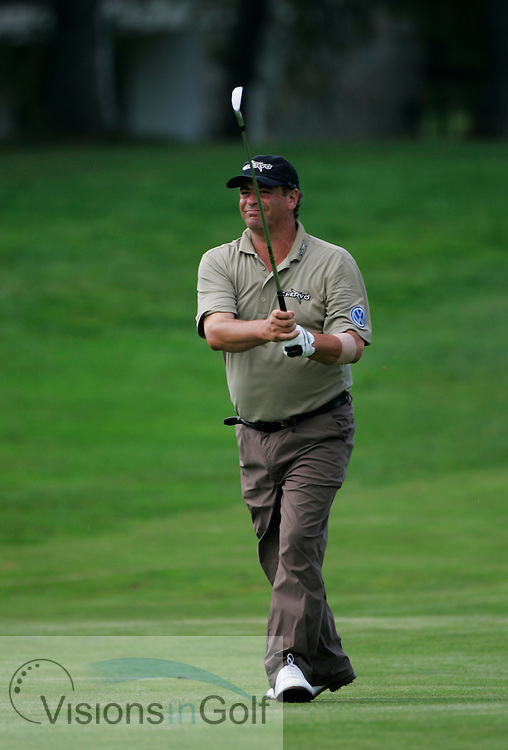 Costantino Rocca during the second round  at the Omega European Masters 2006, Crans Montana, Switzerland, 8th September 2006<br /> Picture Credit: Mark Newcombe / visionsingolf.com