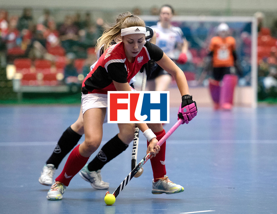 BERLIN - Indoor Hockey World Cup<br /> Switzerland - Poland<br /> foto: <br /> WORLDSPORTPICS COPYRIGHT FRANK UIJLENBROEK