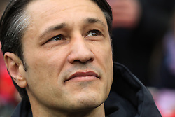 09.03.2019, Allianz Arena, Muenchen, GER, 1. FBL, FC Bayern Muenchen vs VfL Wolfsburg, 25. Runde, im Bild Der Trainer des FC Bayern - Niko Kovac // during the German Bundesliga 25th round match between FC Bayern Muenchen and VfL Wolfsburg at the Allianz Arena in Muenchen, Germany on 2019/03/09. EXPA Pictures © 2019, PhotoCredit: EXPA/ SM<br /> <br /> *****ATTENTION - OUT of GER*****