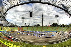 MOTORSPORT: DTM, Show-Event, Muenchen, 15.07.2011<br /> Illustration, Stadion, Rennstrecke<br /> ©pixathlon
