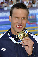 Svømming 10. august 2010 , Alexander Dale Oen (NOR) gold medal<br /> Men's 100m Breaststroke - 100m rana Uomini<br /> Swimming European Championships Budapest 2010 -<br /> <br /> Norway only