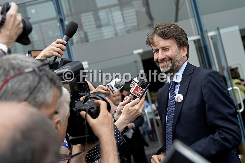 &copy; Filippo Alfero<br /> Salone del Libro 2017<br /> Torino, 18/05/2017<br /> Nella foto: Dario Franceschini