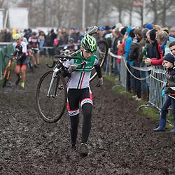 13-01-2018: Wielrennen: NK Veldrijden: Surhuisterveen