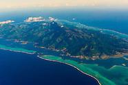 French Polynesia-Aerial Views-Tahaa & Raiatea