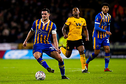 Oliver Norburn of Shrewsbury Town - Mandatory by-line: Robbie Stephenson/JMP - 05/02/2019 - FOOTBALL - Molineux - Wolverhampton, England - Wolverhampton Wanderers v Shrewsbury Town - Emirates FA Cup fourth round replay